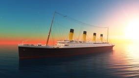 Passenger ship Royalty Free Stock Photography