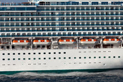 The passenger ship Royalty Free Stock Image