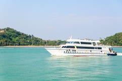 Passenger ship Royalty Free Stock Images