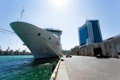 Passenger ship bow Stock Photo
