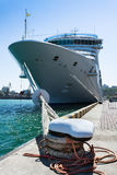 Passenger ship bow Royalty Free Stock Photo