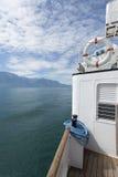 Passenger ship on lake Geneva Royalty Free Stock Image