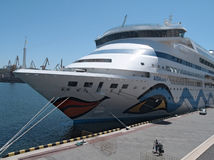 Passenger ship M/S AIDA AURA Royalty Free Stock Photos