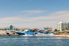 Passenger Ship Pinar del Rio of the Balearia Bahamas Express Royalty Free Stock Images