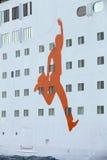 The passenger ship Stock Photography