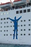 The passenger ship Royalty Free Stock Photos