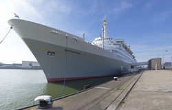 Passenger ship in Rotterdam Royalty Free Stock Images