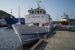 Passenger ship Sagasund Stock Photo