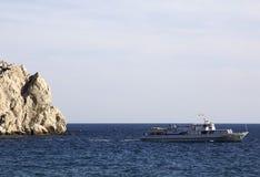 Passenger ship at sea Royalty Free Stock Photo