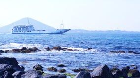Beautiful scenery of Jeju Island in Korea stock photos