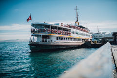 Passenger ship Royalty Free Stock Photo