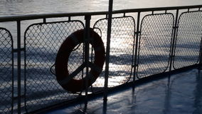 Passenger ship. stock footage