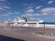 Passenger ship, water transportation, cruise ship, ship, watercraft, ocean liner, ferry. Passenger ship is water transportation, watercraft and motor ship. That stock photo