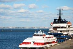 Passenger ships Royalty Free Stock Photography
