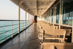 Passenger in ships Stock Photography