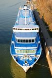 The passenger ships in port Royalty Free Stock Images