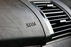 Passenger side airbags. Royalty Free Stock Image
