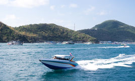 Passenger Speed boat to Koh larn Island, Pattaya Stock Photography