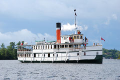 Passenger steam ship Royalty Free Stock Photography