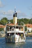 Passenger steamer Blidösund Royalty Free Stock Photography
