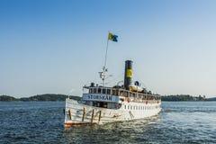 Passenger steamer S/S Storskaer Stock Image