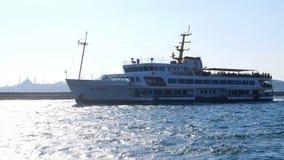 Passenger steamer sea stock video footage