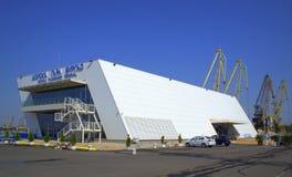 Passenger terminal,Port Burgas Bulgaria Stock Photography