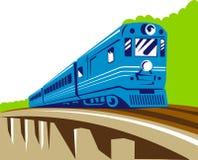 Passenger train Royalty Free Stock Image