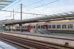 Passenger train. Stock Photo