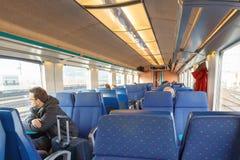 Passenger train. Royalty Free Stock Images