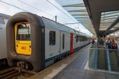 Passenger train. Royalty Free Stock Photography