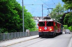 Passenger train. Stock Image