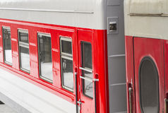Passenger train detail Royalty Free Stock Photos