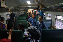 Passenger train Royalty Free Stock Photos