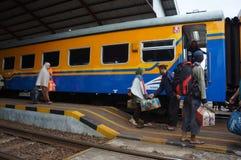 Passenger train Royalty Free Stock Images