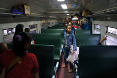 Passenger train Stock Photography