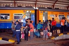 Passenger train Royalty Free Stock Photography