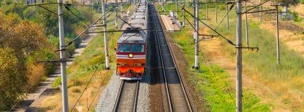 Passenger train Royalty Free Stock Photo