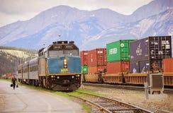 Passenger train. Stock Images