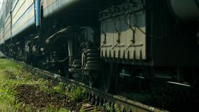 Passenger train. stock video