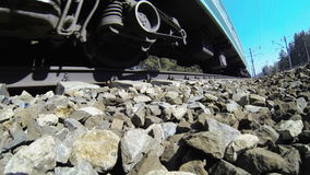 Passenger train stock video footage