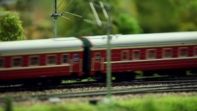 Passenger train passing by. Loop ready file close to stock footage