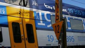 Passenger Train stock video footage