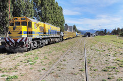 Passenger train. Royalty Free Stock Image