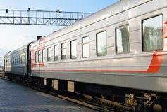 Passenger train Stock Image