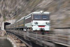 Passenger trains Royalty Free Stock Photography