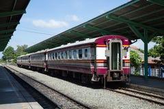 Passenger trains. Stock Photography