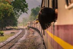 Trains run. Stock Photography