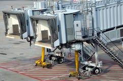 Passenger transport equipment in Hongkong Airport Royalty Free Stock Image