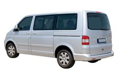 Passenger Van stock image